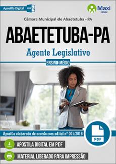 Apostila Câmara de Abaetetuba PA
