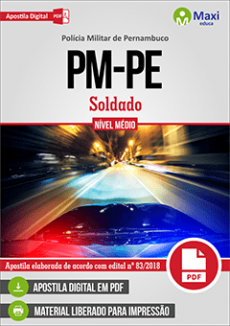 Apostila Concurso PM PE 2018 PDF