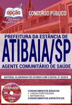 Apostila Concurso Atibaia Agente de Saúde 2018 PDF