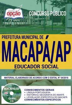 Apostila Prefeitura de Macapá Educador Social 2018