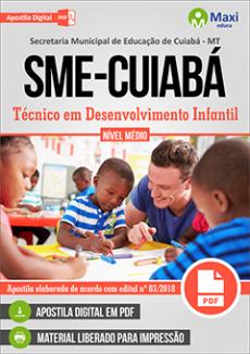 Apostila SME Cuiabá Técnico em Desenvolvimento Infantil
