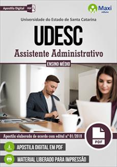 Apostila UDESC 2018 PDF