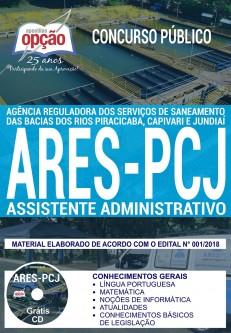 ApostilaConcurso ARES-PCJ - Assistente Administrativo