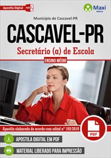 Apostila Concurso Cascavel PR 2018 pdf