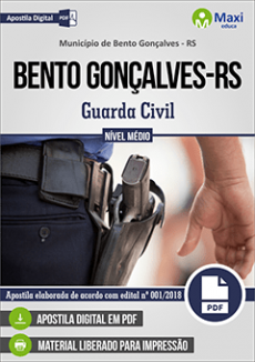 Apostila Concurso Guarda Civil Bento Gonçalves
