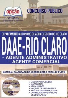 Apostila DAAE Rio Claro 2018