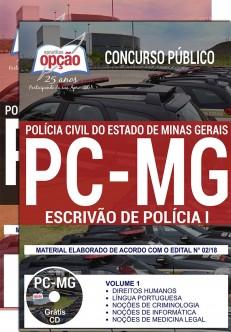 Apostila Polícia Civil MG Ecrivão