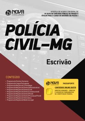 Apostila Polícia Civil MG 2018 pdf