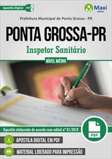 Apostila Prefeitura de Ponta Grossa 2018