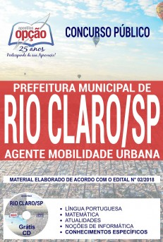 Apostila Concurso Prefeitura de Rio Claro 2018