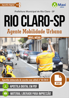 Apostila Concurso Prefeitura de Rio Claro PDF