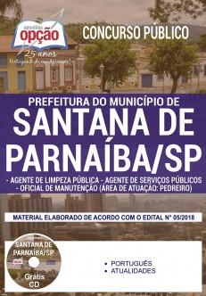 Apostila Concurso Prefeitura de Santana de Parnaíba