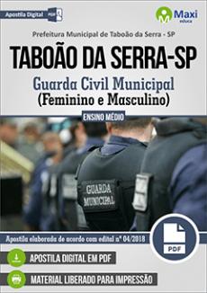 Apostila Concurso Taboão da Serra pdf