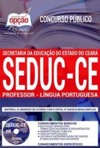 Apostila Professor Língua Portuguesa Concurso SEDUC CE