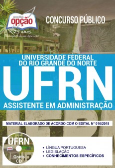ApostilaConcurso UFRN 2018