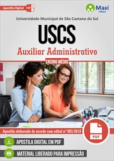 Apostila Concurso USCS 2018 pdf