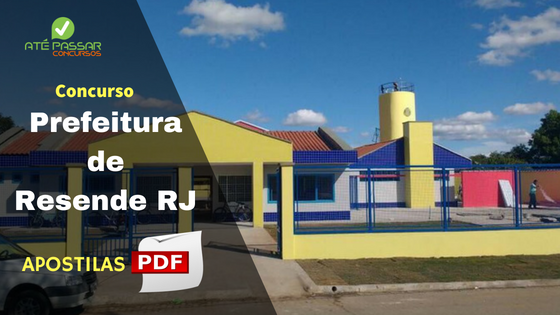 Apostila Prefeitura de Resende RJ