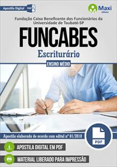 Apostila Concurso FUNCABES 2018 pdf