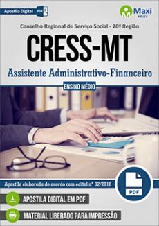 Apostila Concurso CRESS MT 2018