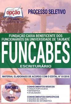 Apostila Concurso FUNCABES 2018