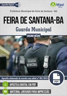 Apostila Prefeitura de Feira de Santana 2018 pdf