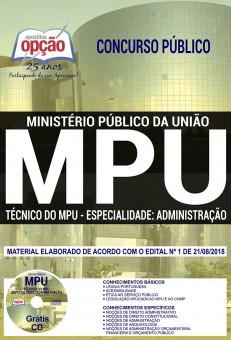 Apostila Técnico do MPU 2018