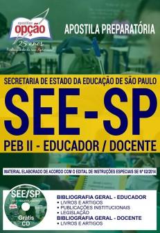 Apostila PEB II SEE SP