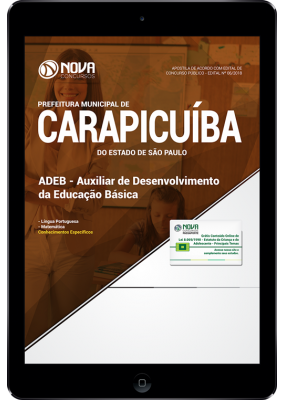 Apostila Prefeitura de Carapicuiba