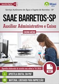 Apostila SAAE Barretos 2018 pdf