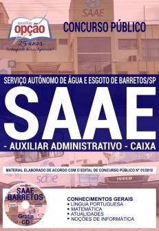 Apostila SAAE Barretos 2018