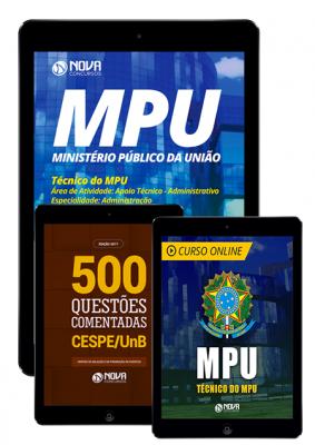 Apostila Técnico do MPU 2018 Kit Aprovação