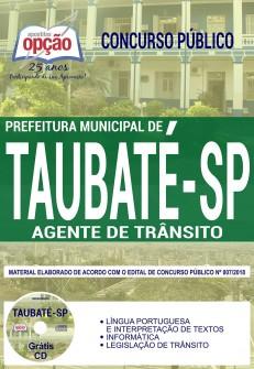 Apostila Prefeitura de Taubaté SP
