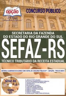 Apostila Técnico Tributário da Receita Estadual SEFAZ RS