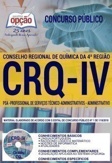 Apostila CRQ 4ª Região 2018 pdf